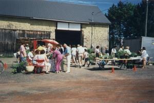 Un de nos premiers marchés horticoles Prise par Un membre de la société d'horticulture